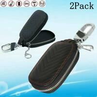 2Stk Keyless Go Autoschlüssel Tasche Schlüssel Schutz RFID Strahlenschutztasche