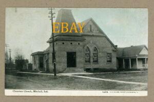Mitchell Indiana,  Christian Church