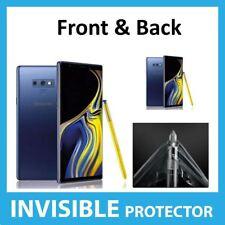 Samsung Galaxy Note 9 Protector de Pantalla Invisible Frontal y Trasero