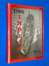 RARE 1995 USS Indiana (BB-58) WW2 Turner Publishers Limited Edition Hardcover