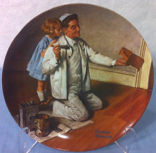 Norman Rockwell Collectible Plates The Painter 8.5 inch