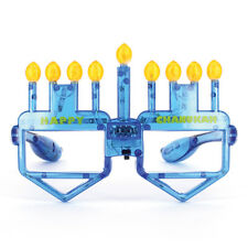 LED Happy Chanukah Occhiali, Menorah e DREIDEL, ideale per Festa di Hanukkah