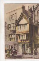 S Endacott Old Shop Facing Exeter Post Office Devon Vintage Art Postcard 573b
