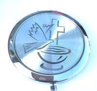 24pcs Baptism Favors Holly Cup Compact Mirror recuerdos para  Bautizo boy/girl