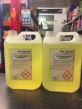 LAVASTOVIGLIE LAVASTOVIGLIE CLEANER detergente fluido liquido 2 x 5 litri totale 10 LITRI