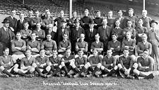 Arsenal FC Fútbol Squad Foto de Equipo 1920 - 21 Vintage Foto 7x4 Pulgadas, volver a imprimir