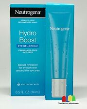 Neutrogena Hydro Boost Eye Gel-Cream Hyaluronic Acid 0.5 oz