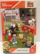🔴 Mega Construx Despicable Me 3 Agnes Toy Sale Building Blocks 70 Pcs Minions
