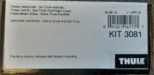 GENUINE Thule Fitting Kit 3081