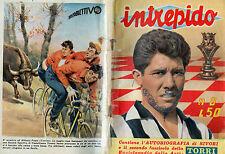 """* Intrepido N°9  del  1/MAR/1962 * + 200 all'ora + SCOOTERLINEA """" 62 """" + Inserti"""