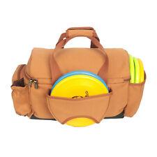 Tourbon Disc Cooler Golf Bag 20+ Disc Capacity Canvas Tote Travel Handbag New