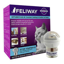 Feliway Starter Kit, Diffuser with 48 ml Refill *Best by June 2020 Date*