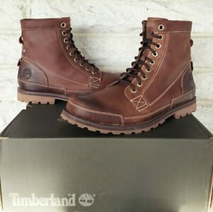 """Timberland 6"""" Mens Earthkeepers Boots Size 9.5 Brown 15551 READ DESCRIPTION $160"""