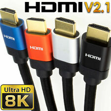 HDMI v2.1 Ultra High Speed HDR 8K/4K 48Gbps Performance Cables SkyQ/XBOX/PS4/PS5