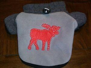 Martha Stewart Pets Dog Puppy Sweatshirt w/Moose  Size  Extra Small XS