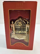 LENOX 2011 First Year in the New Home Christmas Ornament New in Original Box