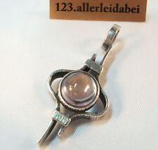 Turun Hopea Anhänger Bergkristall 830 er Silber Modernist 1979 / AI 009