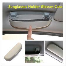 NEW Universal Beige Sunglasses Reading Glasses Case Bag Hard Box Travel Pack