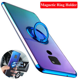 Luxury Magnetic Ring Stand Holder Case Cover for Huawei P20 Pro/Lite Mate 20 Pro