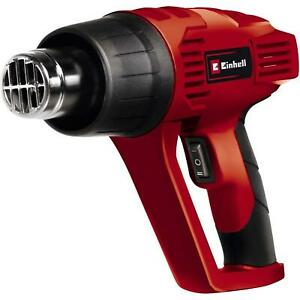 Einhell Hot Air Gun With Accessories, Nozzles - Overheating Protection - 2000 W