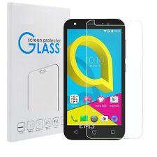 Premium Tempered Glass LCD Screen Protector Film Guard for Alcatel U5