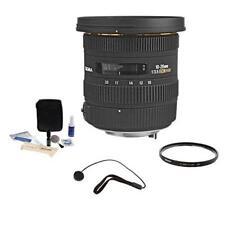 Sigma 10-20MM F/3.5 EX DC HSM AF Zoom Lens Bundle  for Pentax DSLRs #202109 K