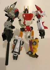 Transformers Hasbro Generations Combiner Wars Superion with Dragstrip