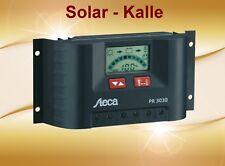 Steca Pr 3030 Régulateur de Charge Solaire 30A 12V 24V Pwm Avec LCD Affichage