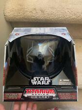 Titanium Series Darth Vader's Custom TIE Advanced x1 StarFighter Diecast