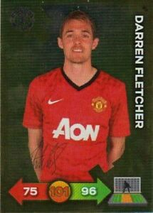 Adrenalyn XL Manchester United 2013 Signature Card 097 - Darren Fletcher