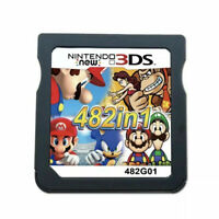 482 In 1 For Nintendo NDS NDSL 2DS 3DS NDSI Cartridge Console Card Video Game