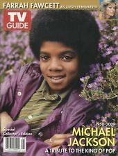 TV Guide Special Collector's Edition MICHAEL JACKSON and FARRAH FAWCETT 2009
