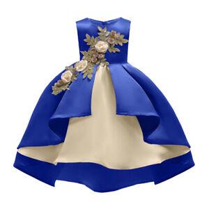 Xmas Kids Baby Flower Girls Tutu Dresses Party Wedding Bridesmaid Princess Dress
