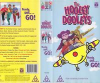 THE HOOLEY DOOLEYS READY ST GO  VHS PAL VIDEO~ A RARE FIND