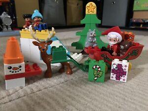 Duplo Christmas sleigh set 10837