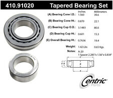 Wheel Bearing and Race Set-Premium Bearings Rear Centric 410.91020