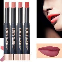 Beauty Glazed 8 colors new lipstick non-stick cup Waterproof, Long Lasting Hot