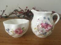Coalport Bone China Miniature Set - Floral, Made in England