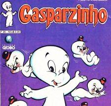 Luluzinha Gasparzinho Brazil Gibi Harvey Comics Caspar Friendly Ghost lot of 3