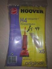 Genuino Aspirapolvere Hoover Borse-H4-Confezione da 5