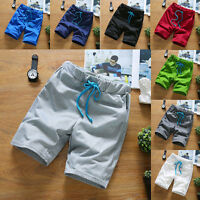Men's Cotton Boardshorts Surf Board Shorts Swim Wear Beach Sports Trunks Pants