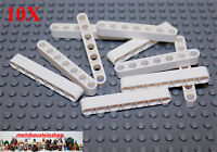 10X Lego® 32524 Technic Liftarme Beam 1X7 Weiß White NEU