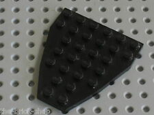 LEGO black Boat Base Bow Plate with Stud Notches 50303 / Set 10213 4483 8128 ...