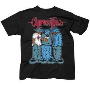 Cypress Hill Blunted Hop Gangster Rap Hard Core West Coast Band T Shirt CH15