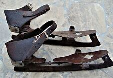 Antique Ice Skates ~ Samuel Winslow Skate Mfg Co, Worcester, Mass. ~ Late 1800