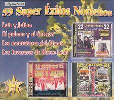 LUIS Y JULIAN PALOMO Y EL GORRION LOS MONTANESES DEL ALAMO INVASORES 3CD Box SET