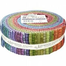 Shadow Play Woolies Flannel -   Colors Jelly Roll Strips - MASWOF-COL