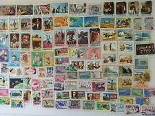 100 Different Liberia Stamp Collection
