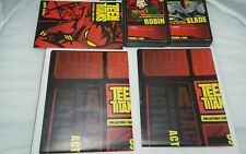 Teen Titans Collectible Card Game 2 Player Starter Set Used Complete 66 Cards