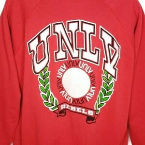 UNLV Rebels Sweatshirt Vintage 90s University Of Nevada Las Vegas Made In USA XL